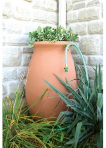 Agua 190 Lt Rain Barrel with planter